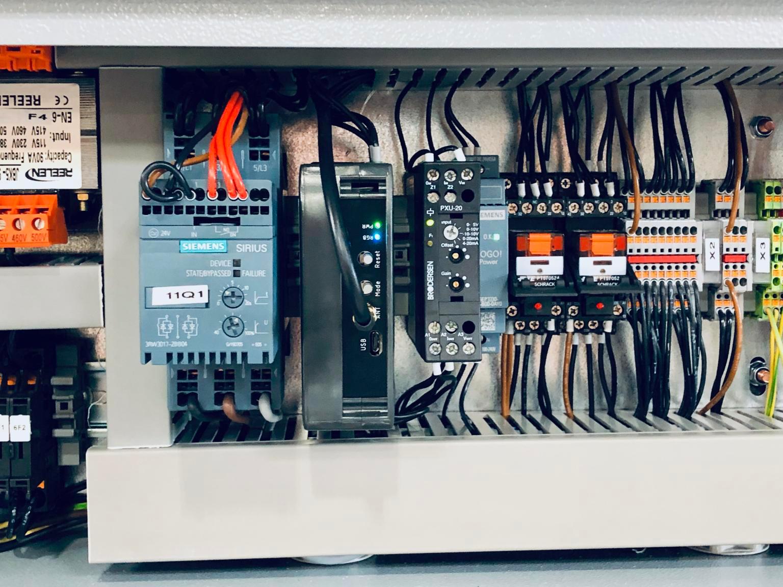 The D Zero installed in an industrial machine